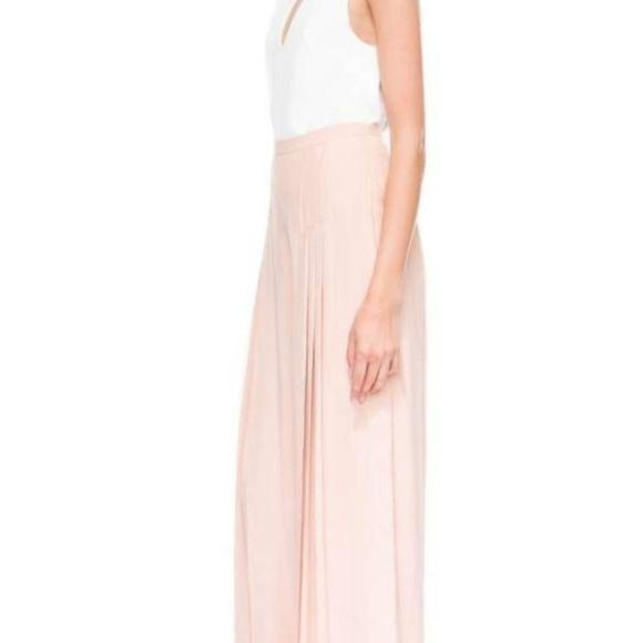 C/MEO COLLECTIVE Frayne Pleated Wide Leg Pant Pink